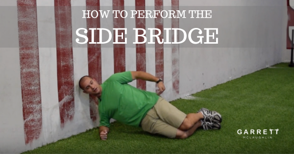 How to Perform the Side Bridge